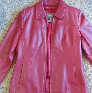 Women's Wilson leather jacket with liner
